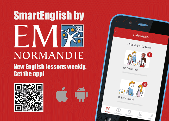 SmartEnglish by EM Normandie: a new application to learn English