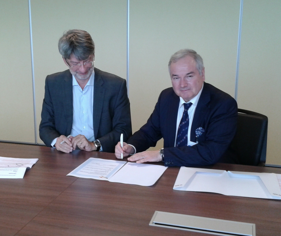 New partnership signed between SPB and EM Normandie
