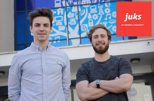 Two EM Normandie students seek sponsors to launch Juks, a community running application which rewards efforts