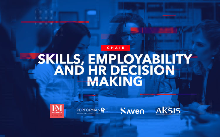 "EM Normandie's ""Skills, Employability and HR Decision-Making"" chair of research"