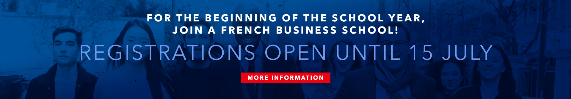 Join a French Business School!