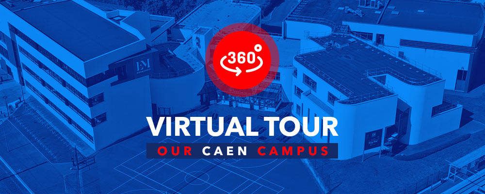 Caen campus Virtual Tour