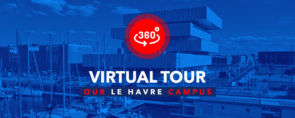 Le Havre campus Virtual Tour