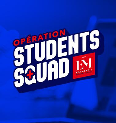 Opération Students Squad by EM Normandie