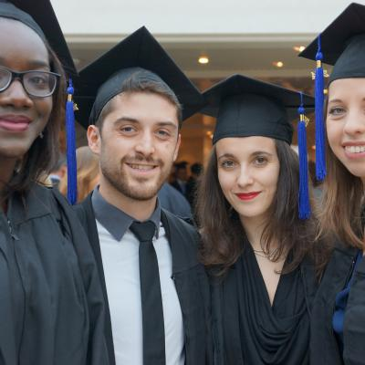 EM Normandie celebrates its graduates!