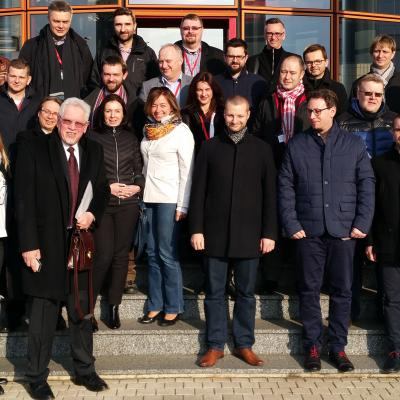 37 Polish Managers on a seminar at EM Normandie