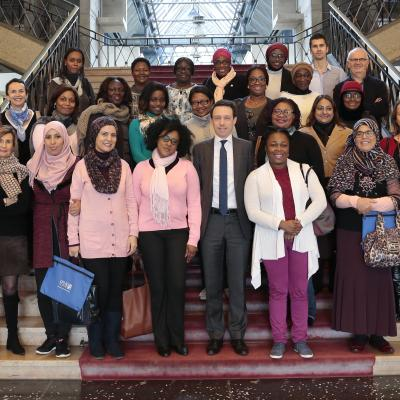 Port Management by Women: 21 African Executives on a training programme in Le Havre