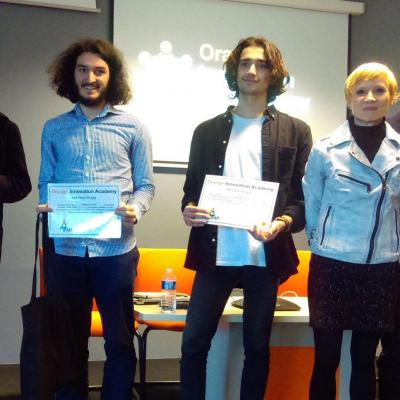Résultats Orange Innovation Academy