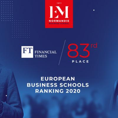 European Business Schools Financial Timaes Ranking 2020
